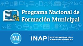Banner Programa Nacional de Formación Municipal