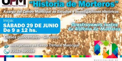 """Seminario taller """"Historia de Morteros"""""""