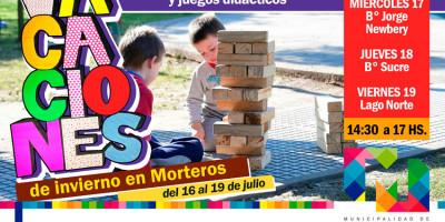 SUMATE A FESTEJAR LAS VACACIONES EN LOS BARRIOS