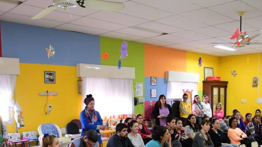 La Subsecretaria de Discapacidad de la provincia llevo a cabo los talleres para padres