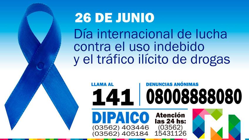 PREVENGAMOS EL FLAGELO DE LA DROGADICCIÓN
