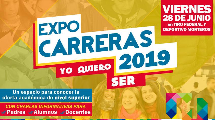 """Llega... la Expocarreras 2019 """"Yo quiero ser"""""""