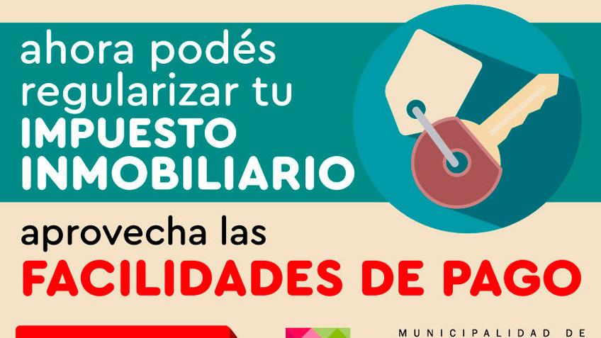 ¡ADHERITE AL PLAN DE PAGOS Y REGULARIZA TUS DEUDAS!