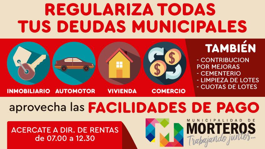 Nuevo plan de pago para regularizar deudas de tasas municipales