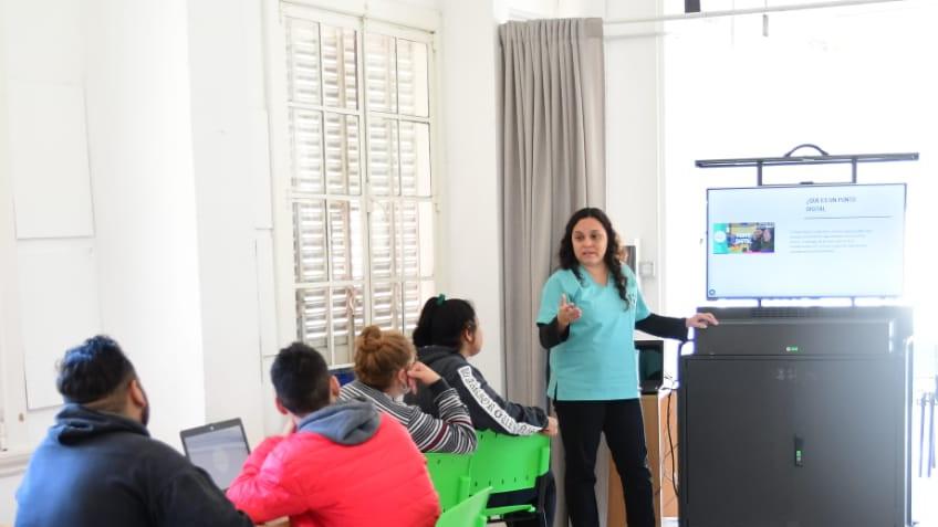 Punto digital: un nuevo espacio de aprendizaje y conectividad