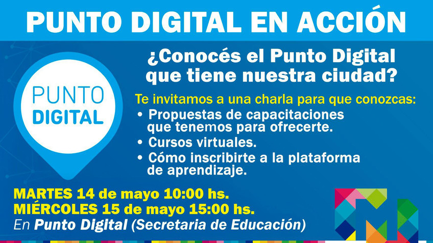 Punto digital en acción