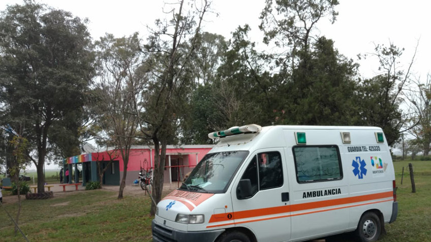 Nuestra unidad móvil sanitaria visita la Escuelas rurales