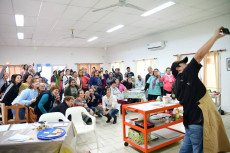 Hoy comenzó el taller de CocinArte