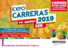 """Llega la EXPOCARRERAS 2019 """"YO QUIERO SER""""."""