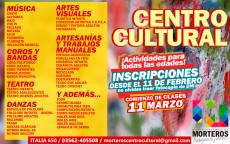 ¡Vuelven los cursos al Centro Cultural!