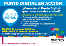 Punto digital en acción