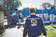 SE TRANSPORTARON DESDE EL CENTRO DE ACOPIO 8.120 KG DE MATERIALES RECICLABLES